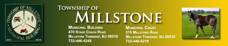 Official Web Site of Millstone Townsh, New Jersey